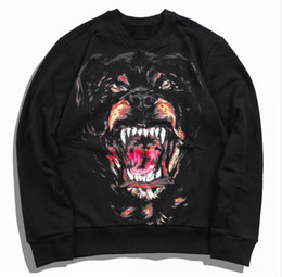 Wholesale Sweater Design Man - Wholesale men luxury print design Sweatshirts fashion men funny brand cotton tops and Sweater 00b