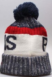 522a6c5d4c3 Autumn Winter hat Sports Hats Custom Knitted Cap with Team Logo Sideline  Cold Weather Knit hat Soft Warm Pelicans Beanie NOP Skull Cap