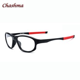b3da3f56a2 Chashma Brand Men Sports Glasses Frame TR90 Basketball Glasses Optical Prescription  Spectacles Quality Circle 54-16-138