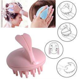 Wholesale Vibrating Head Massager - Scalp Massage Hairbrush Vibrating Silicone Comb Massager Electric Hair Brush Head Waterproof Electric Massage Brush Massage Comb