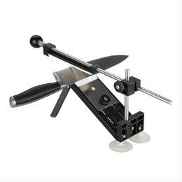 Borde de la taza online-Afilador de cuchillos Ruixin Pro, actualización Professional Kitchen Sharpener System 4pcs Whetstones Apex Edge Pro con ventosas