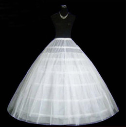 Wholesale Cheap Wedding Dress Petticoats - New Arrival Bridal Wedding Dress Petticoat Adjustable Diameter 130cm Women Petticoats Bustle Crinoline Cheap High Quality