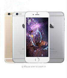 Wholesale Wholesale Refurbished Mobile Phones - Refurbished Original Apple iPhone 6 Support fingerprint Cell Phone 4.7 inch ROM 16GB A8 IOS 8.0 4G FDD-LTE Unlocked mobile phone