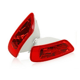 Wholesale Cover Rear Fog Light - Tailights rear bumper fog lights lamp house holder cover for Jeep Grand cherokee compass original replacement parts