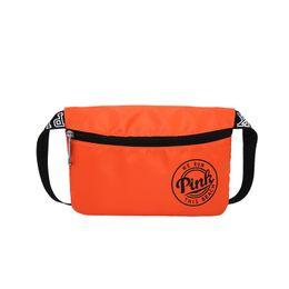 Wholesale Money Pack - Pink Waist Bag Waterproof Unisex Ajustment Fashion Fanny Pack Casual Women Men Belt Bag For Phone Money