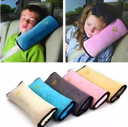 carro de criança Desconto Viagem de carro de avião pescoço Travesseiro Cinto De Segurança Cinto de Segurança Almofada de Ombro Capa Crianças Capas de Proteção Almofada de Apoio Travesseiro