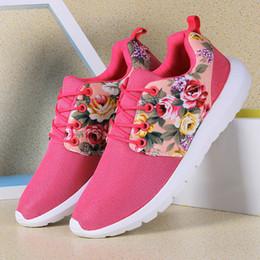 Deutschland Frauen super leichte Laufschuhe. Freizeit-Tourismus koreanische Studenten Agam flache Schuhe Mode Student Mädchen drucken Blumenschuhe. cheap flower running shoes women Versorgung