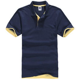 Polo poliestere online-Polo da uomo nuovissima Polo da uomo in cotone e poliestere Polo Vendita calda Camicia a maniche corte Plus Size Xs -3xl Polo da uomo Polo Designer