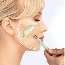 Face massager device Portable Pratical Jade Facial Massage Roller Anti Wrinkle Healthy Face Body Head Foot Nature Beauty Tools