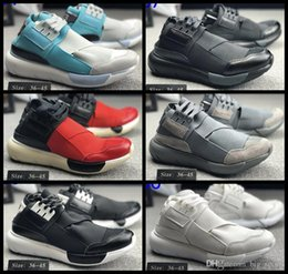 6fad6044a063a 2018 New Y-3 QASA HIGH Men   women Running Shoes Fashion Street Culture  Luxury Boots Designer Y3 Outdoor Sport Trainers Sneakers Chausseures  discount y3 ...