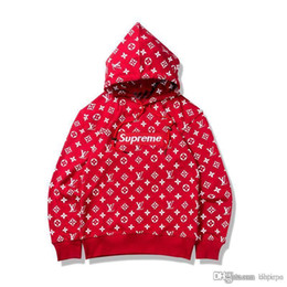 Wholesale Autumn Coffee - New Arrival Design Red Coffee Hoodies Men Women's Hot Pullover Hooded Hoodies Teenager Autumn Casual Fashion Thin Sweatshirts Jacket