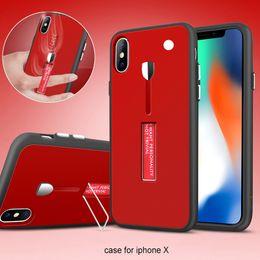 Canada Coque de protection hybride recouvrant tout le corps avec support en métal pour iPhone X XR XS 8 7 6 6S Plus Samsung S8 S9 S9Plus Note 8 Offre