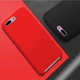 microfiber iphone Coupons - Official Liquid Silicone Soft Case For Iphone X 8 Plus 7 6 6S Gel Rubber Shockproof CellPhone Microfiber Cushion Cover Coque With Retail Box