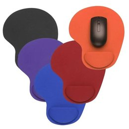 Коврик для мыши Оптический трекбол ПК сгущает коврик для мыши Поддержка запястье комфорт коврик для мыши коврик Мыши красочные цвета от