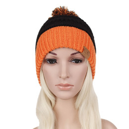 2650135c28334 ladies crochet hats Coupons - CC lady hat new hot sell winter warm wool cap  fashion