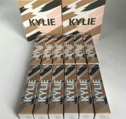 Wholesale Dhl Base - 2018 Kylie Jenner foundation Base Makeup cosmetics kylie Skin Concealer Make Up concealer Contour for girl 12 colors via DHL