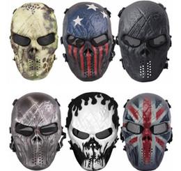 gesichtsschutz schädel maske Rabatt Full Face Skull Skeleton Maske Halloween Atmungsaktiv Windproof Scary Masken Soft Skull Schutz Schädel Gesichtsmaske