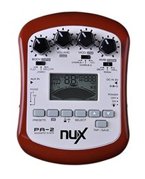 Wholesale Nux Pedals - NUX PA-2 Portable Acoustic Guitar Multi-Effects Pedal Processor Flat Tuning Function