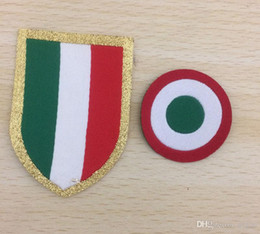 bd4ae1ee7a 1819 Serie A Italia Calcio Patch Red Coppa and Italia Circle Scudetto patch  Scudetto + Italy Cup patch serie a patches for sale
