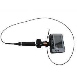câmera lcd de inspeção Desconto Professional portátil impermeável 4,3 '' LCD indústria de vídeo endoscópio 4-Way OD 4,0 milímetros cobra câmera de inspeção endoscópio DR4540F