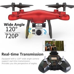 Wholesale Micro Racer Toy - FPV WIFI 2MP drone with HD camera SMRC S10 quadcopter Micro Remote control uav drone kit helicopter racer aircraft racing toy