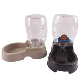 Wholesale Pets Drink - Supplies Feeders 400 ml Pet Dog Water Bottle For Kitten Cat Drinking Fountain Automatic Slow Water Dispenser Plastic Travel Dog Bowl