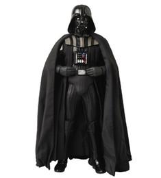 Darth Vader (Anakin Skywalker) Traje del traje de Darth Vader Disfraz de película para la fiesta de Halloween Cosplay Niños adultos desde fabricantes