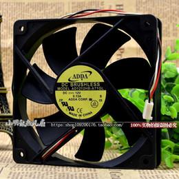 Refrigeração adda original on-line-Para Genuíno ADDA Fan AD1212HB-A71GL 12025 Ventilador De Refrigeração DC12V Brand New Original