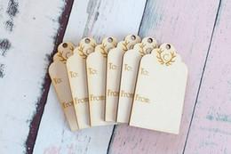 Etichette regalo inciso in legno tagliando corno di cervo legno rustico tag tag regalo di natale festa di nozze tag decorazione da