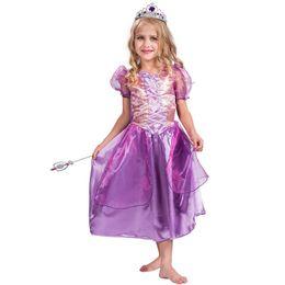 2019 trajes de conto de fadas Meninas Conto de Fadas Roxo Shinning Princesa Traje Livro Semana Outfit Fancy Dress desconto trajes de conto de fadas
