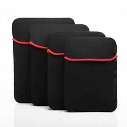 "Wholesale Macbook Pro China Wholesale - Laptop Case Soft Sleeve Bag Pouch For 7"" 8"" 10"" 12"" 13"" 14"" 15"" Tablet PC Laptop"