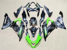 Wholesale 13 Motor - New ABS motor Fairing Injection Mold Full set Fit For kawasaki Ninja ZX6R 599 636 13-16 ZX-6R 2013 2014 2015 2016 2017 cool green black