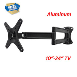 подставка для жк-стенда Скидка D-MOUNT LCD-WA50 aluminum 10 inch 24in 27 inch tiltable full motion swivel LCD LED PLASMA tv wall bracket mount stand holder