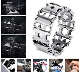 bohren führen Rabatt LeatherMan TREAD Follower Kreative Mode-Tools Armband Armband tragen Ausrüstung im Freien EDC Werkzeuge