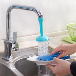 Tap plastica online-Multifunzione regolabile Sprinkler Filter Domestica Plastica Acqua Tap Spatter Strainer Testa Risparmio Strumento Cucina Colorato 2 2hm jj