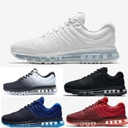 f96810c66aadfe 2018 Men Women Maxes Shoes Sneaker Trainers Black White Maxes 2017 Shoes  Sport Athletic Shoes Brand Air Designer Chaussures Size US 5.5-11
