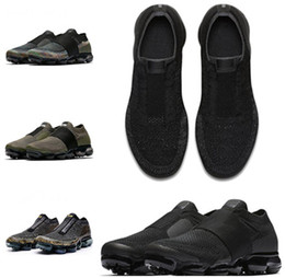 Wholesale elastic rubber straps - Vapormax Running Shoes Men Women Classic Outdoor Run Shoes Vapor Black White Sport Shock Jogging Walking Hiking Sports Athletic Sneaker36-45