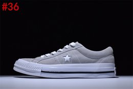 Wholesale Vintage Brown Shoes - 2017 All Vintage Near Mint Conve One Star Gray Tennis Sneaker Trainers Shoes Canvas shoes With box