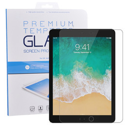 Wholesale Ipad New Screen - For iPad Air 9.7 Tempered Glass Screen Protector Guard Shield For New iPad Pro 10.5 2017 mini 3 4 Samsung Tablet