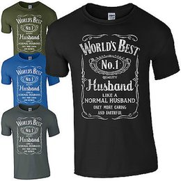 best valentines day gifts Coupons - World's Best Husband T-Shirt Funny Fathers Day Dad Present Valentines Mens Gift