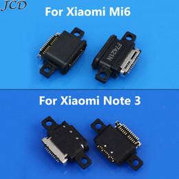 hembra de 5 pines Rebajas JCD 2 unids / lote Mini conector micro USB Conector Socket dock 5pin piezas femeninas Para Xiaomi Note 3 Note3 6 mi6 mi 6 Puerto de carga