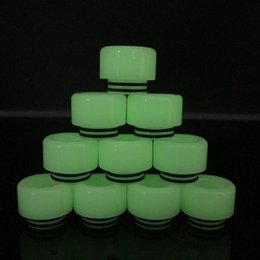 Wholesale dark cloud - new Epoxy Resin 810 glow in the dark Drip Tip for TFV12 TFV8 RTA cloud beast king wide bore wholesale price