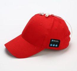 Deutschland Bluetooth-Musik-Kopfhörer hat Outdoor-Baseball-Kopfhörer-Kappe drahtlose Bluetooth-Headset mit Lautsprecher 6 Farben gut heiß cheap good bluetooth Versorgung