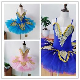 Canada Professionnel Blanc Lac Des Cygnes Ballet Tutu Costume Filles Enfants Ballerine Dress Enfants Ballet Dress Dancewear Danse Robe Pour Filles 3Color 010 Offre