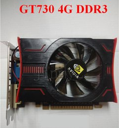 Wholesale Graphics Card Wholesalers - NVIDIA Graphics Card GeForce IGame GT730 4GB DDR3 128bit PCI-E 2.0 Graphics Gaming Video Card Desktop
