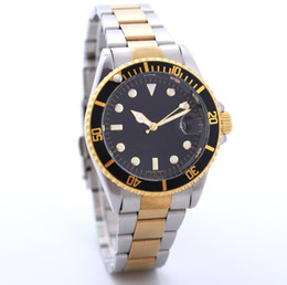 Wholesale Clock Factory - Factory Promotion Mens Luxury Automatic Date Military watches Stainless steel Business Casual Brand Wristwatch Clock Relogio 20 Colors