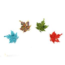 Pin di foglia d'acero online-Multi colore foglia d'acero spilla retrò strass acero foglia pin pianta bigiotteria corpetto per le donne