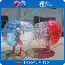 Wholesale Inflatable Trampolines For Kids - Free shipping, 1.5m inflatable bumper ball bubble soccer human bubble ball football for kids and adults
