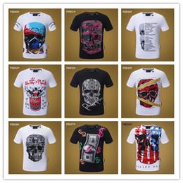 camiseta de pescoço homens negros Desconto Preto O-pescoço tee 2018 New Fashion Chest bordado Lobo Dos Homens T camisa de Manga Curta Casual t-shirt Hipster Padrão Fractal tees Tops Legal # 9110