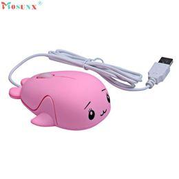 Rato bonito do pc on-line-Adroit 1 PC Animal Bonito Padrão 1200 DPI USB Óptico Com Fio Gaming Ratos Mini Mouse Muis Para PC Laptop 19S61119 transporte da gota